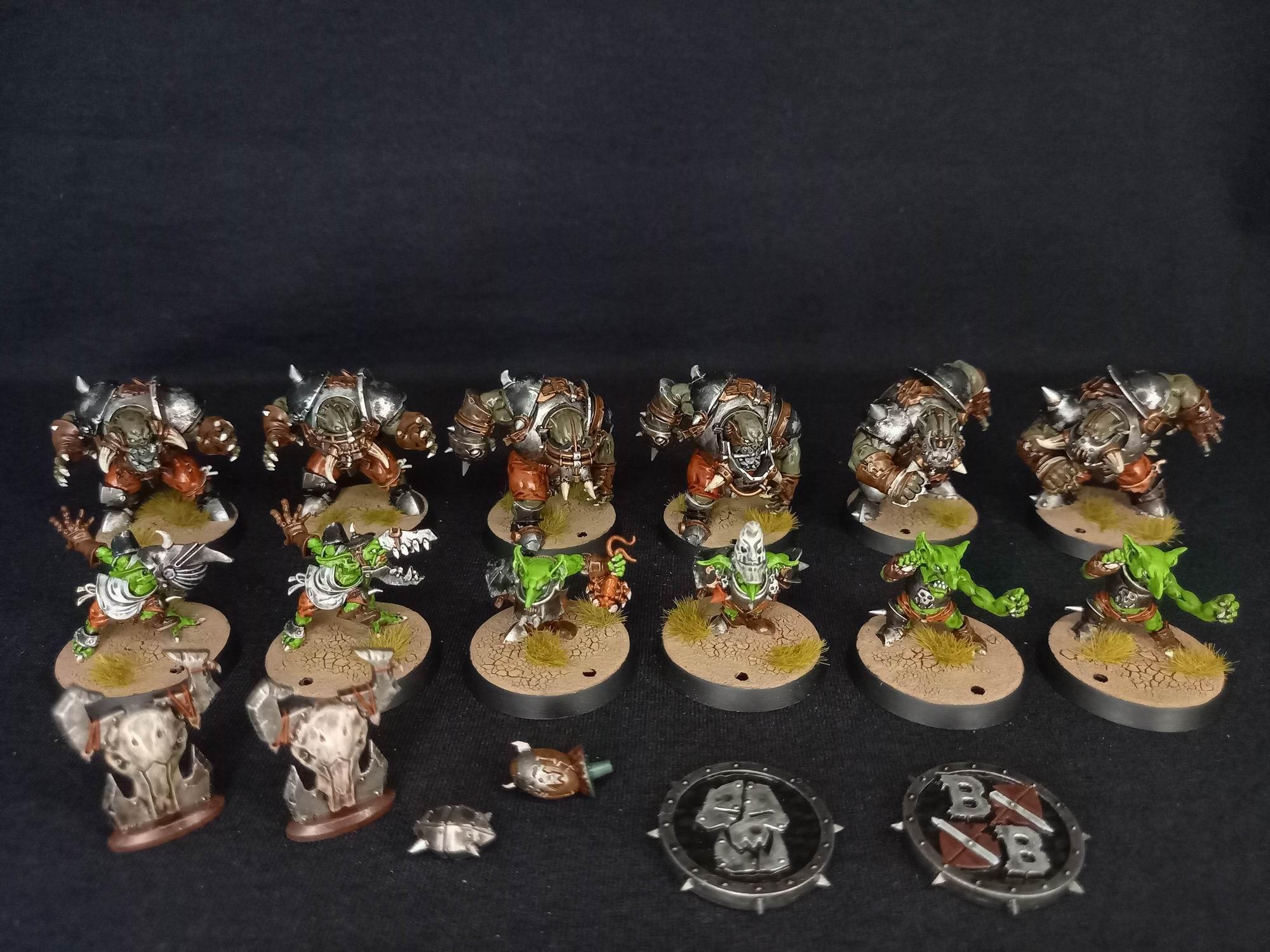 Black Orc Blood Bowl Team