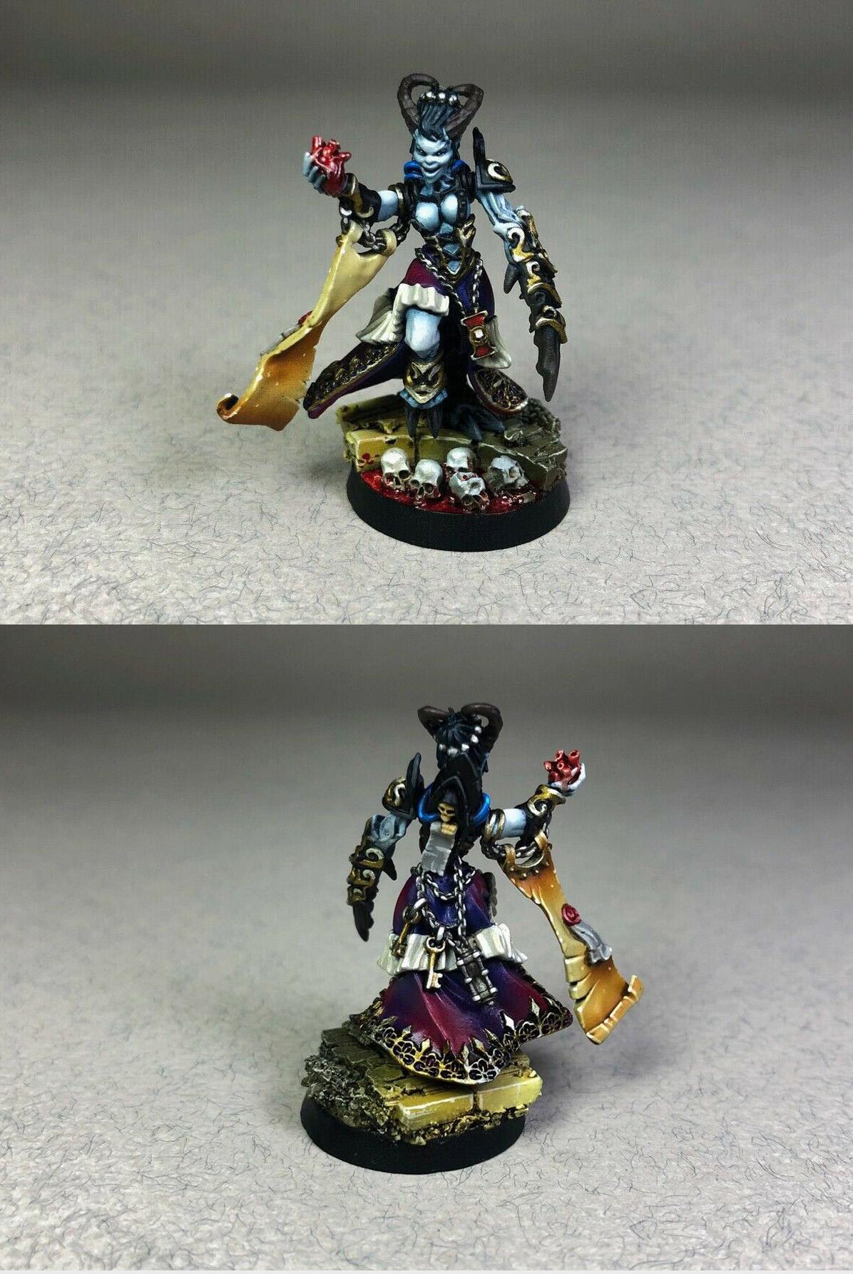 Inquisitor Daemonette Pin-up