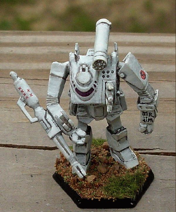 Rough And Tumble >> CoolMiniOrNot - Battletech Thunderbolt by JohnC
