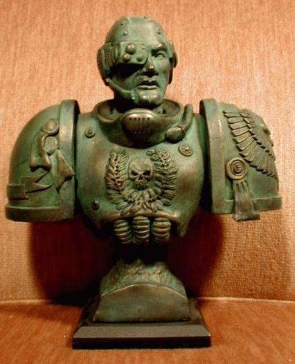 Space Marine bust