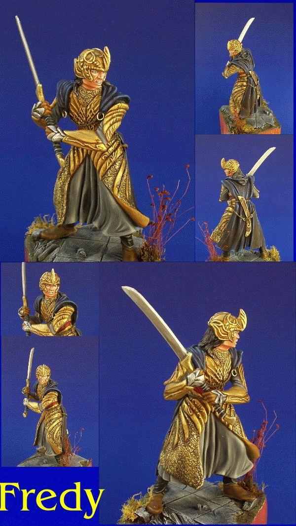 LOTR Elf Warrior at Helms Deep