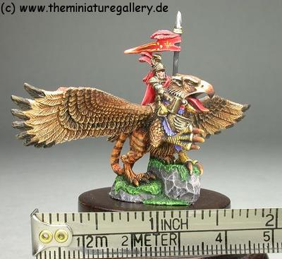 Warmaster 15mm scale Imperial Hero on Wargriffon