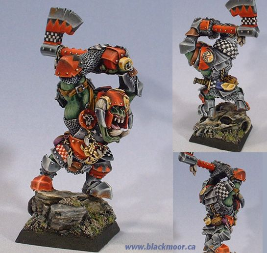 Badruk 'Eadsplitta Black Orc Warlord