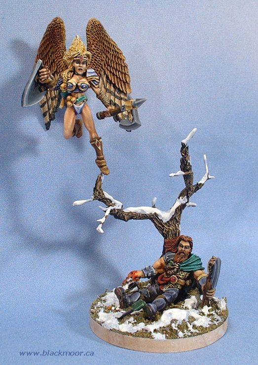 On to Valhalla... A Grom and Valkyrie vignette