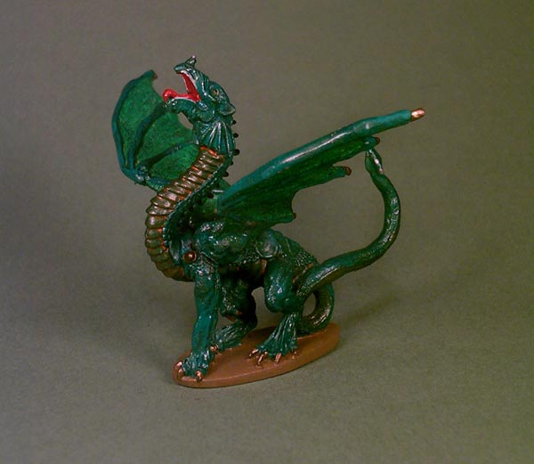 Coolminiornot Green Dragon By Braveheart712