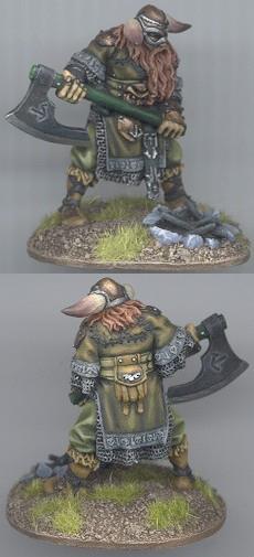 CoolMiniOrNot - Sigurd, viking by Reaver