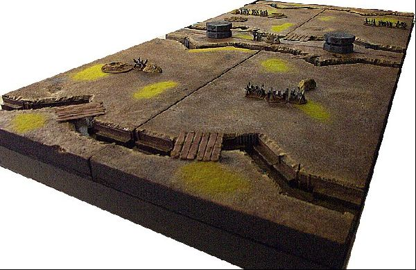 coolminiornot 40k trenchwork gaming table by gatekeeper