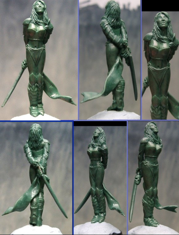 Amarocese warrior green