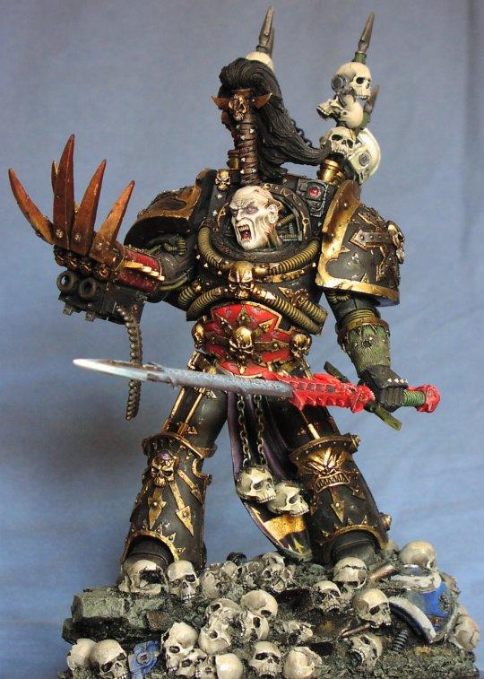 Abaddon the despoiler Warmaster of chaos
