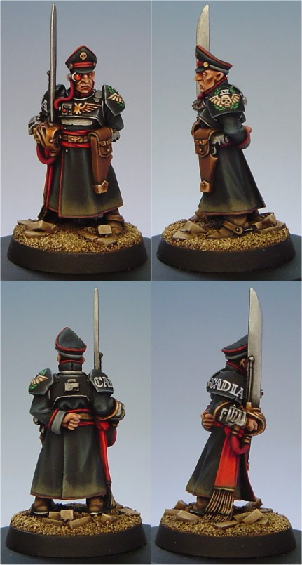Cadian Commissar
