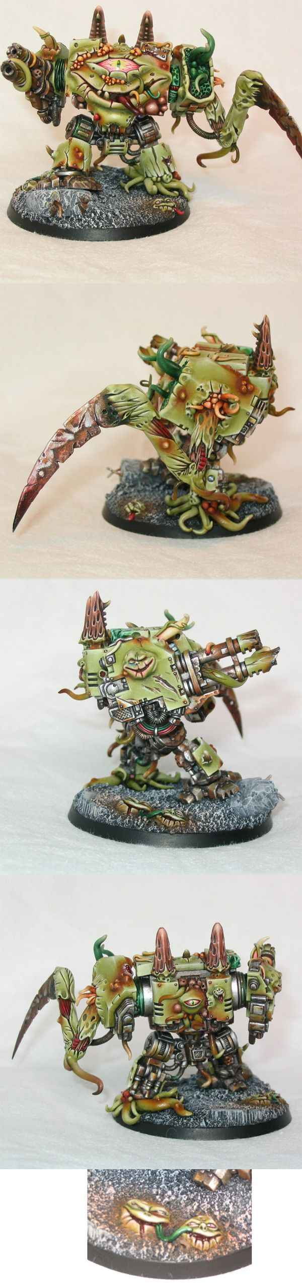 dreadnought possédé de nurgle, silver at GD uk 2003