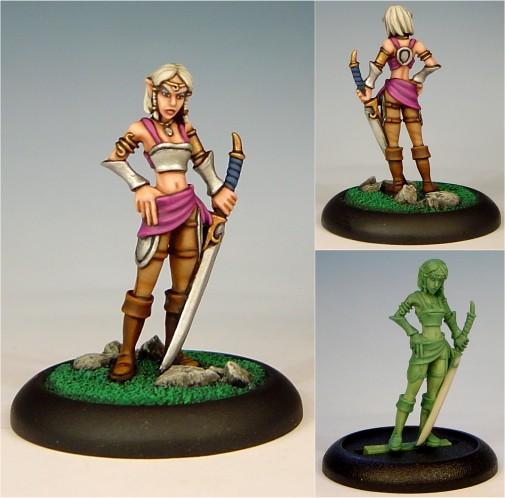 Si'Rene: Elven Warrior