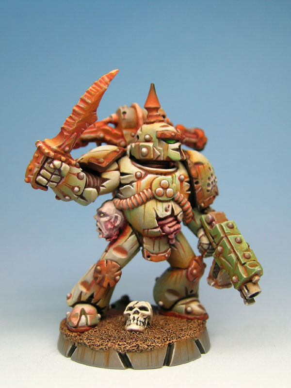 Clean And Shiny >> CoolMiniOrNot - nurgle marine by cyril