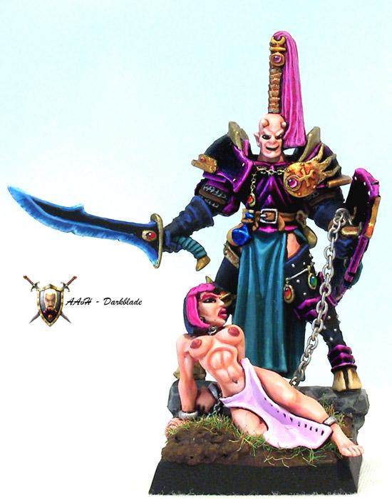 Slaanesh Chaos Champion 01