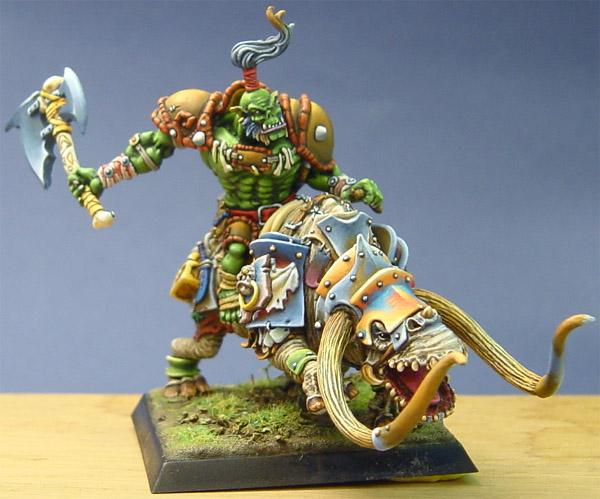 Orc Shaman on Brontops