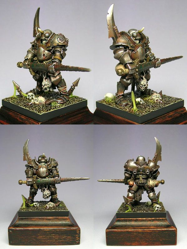 nurgle champion no NMM! Gold at French GD 2004