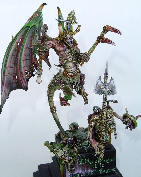 L´Ogre Dragon et Le Gardien de la Lagune