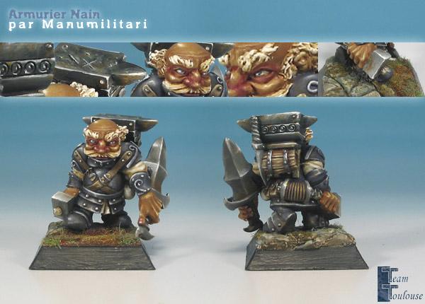 Armurier Nain / Dwarf armorer
