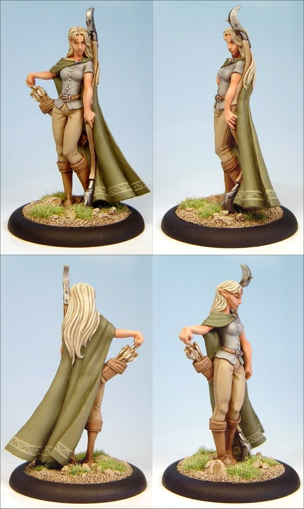54mm Shae: Half Elf