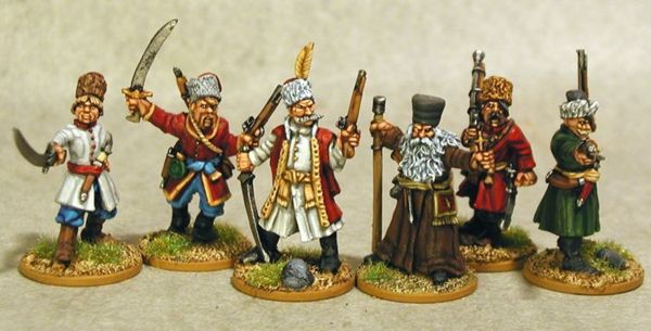 The Seven Years War - Russian Cossack Characters