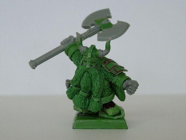 Dwarf Lord Green stuff