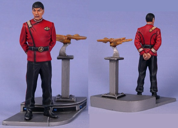 Space Officer from Andrea Miniatures (54mm)