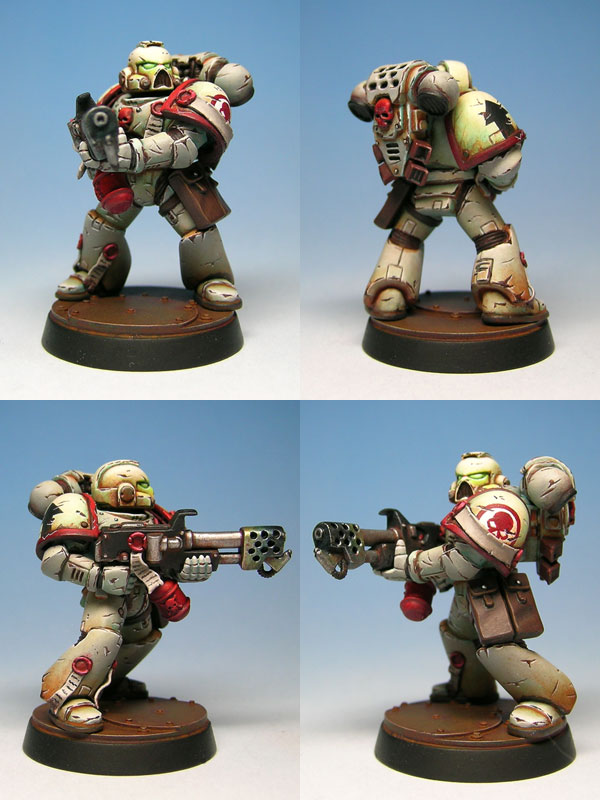 Coolminiornot Red Skulls Chapter Space Marine By Cyril