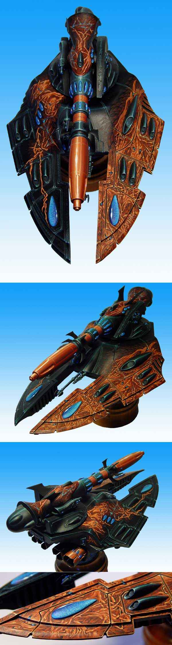Song of hunger - eldar Cobra gravtank