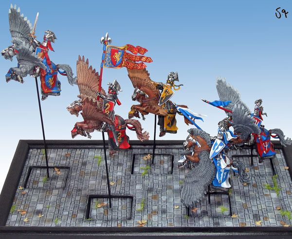 Bretonnian Pegasus Knights Regiment