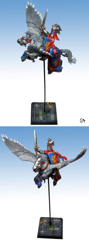 Bretonnian Pegasus Knight Champion