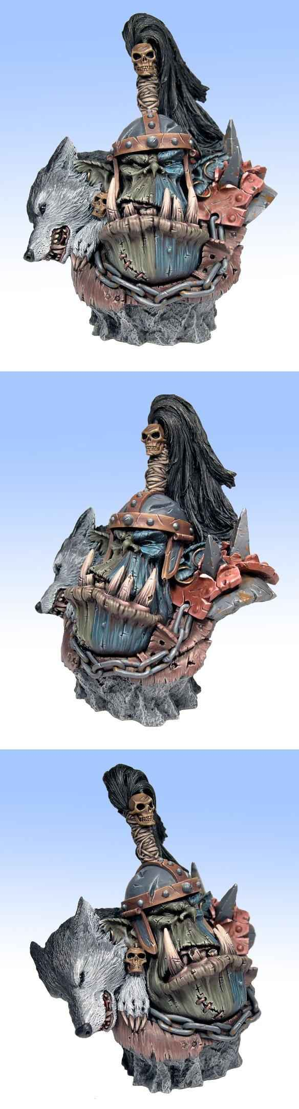 Orc Warlord Bust - Forgeworld