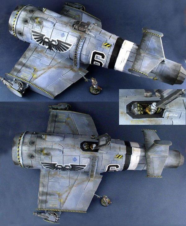 Scratchbuilt Imperial Deep-Space Fighter