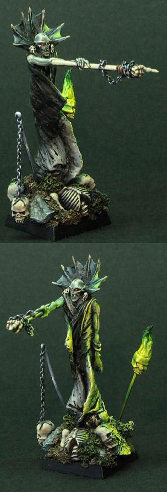 Necrarch Vampire sculpt