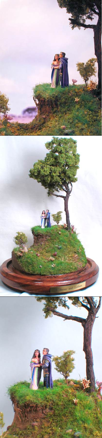 Mithril LOTR Beren and Luthien