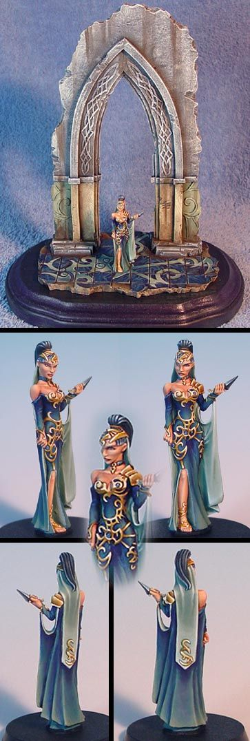 Spyglass Anastasia on sculpted base by James