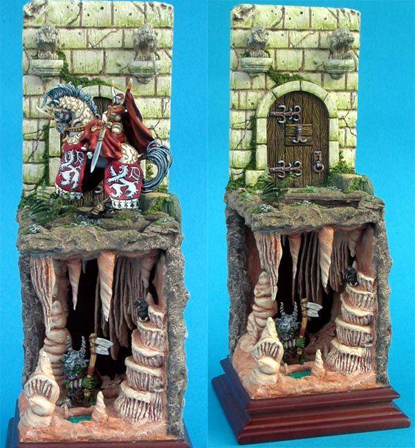 diorama Pythie d'azael details 1