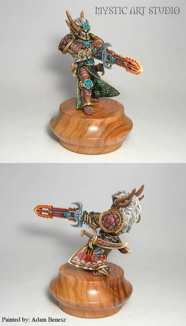 Demon Knight Warlock
