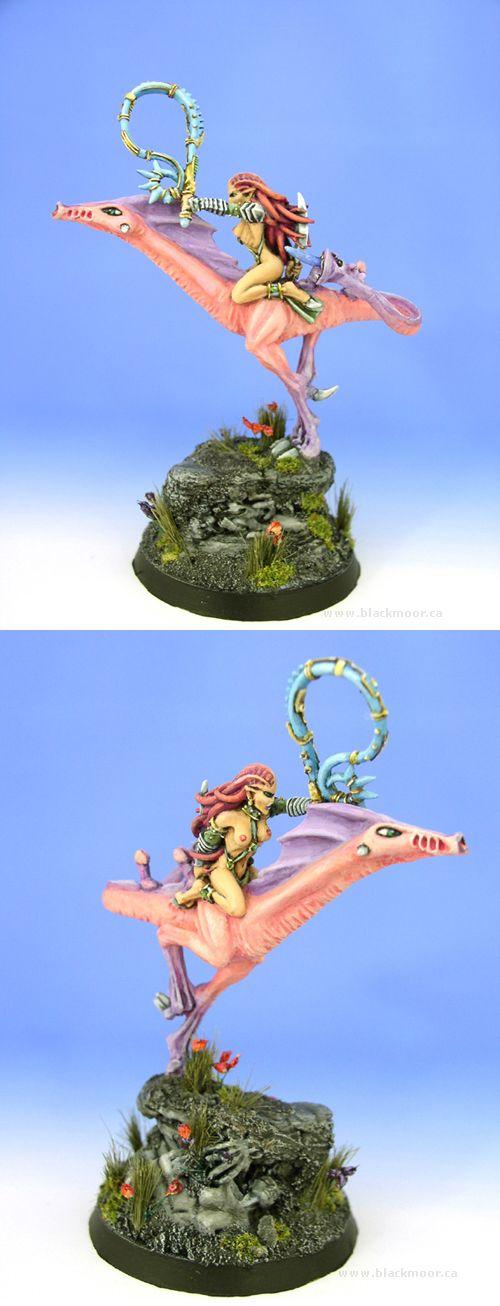 Chaos Slaanesh Mounted Daemonette