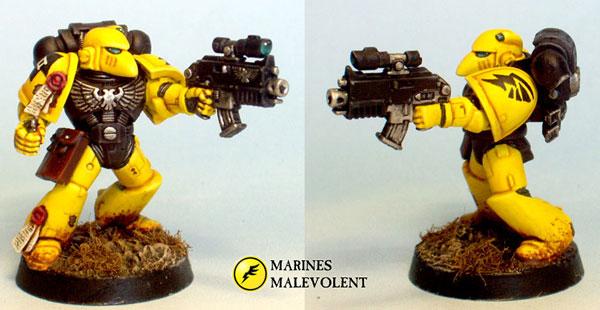 Marines Malevolent Space Marine