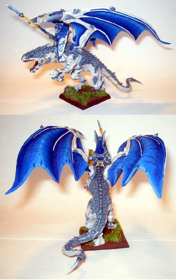 Dragon Prince riding Juvenile Dragon