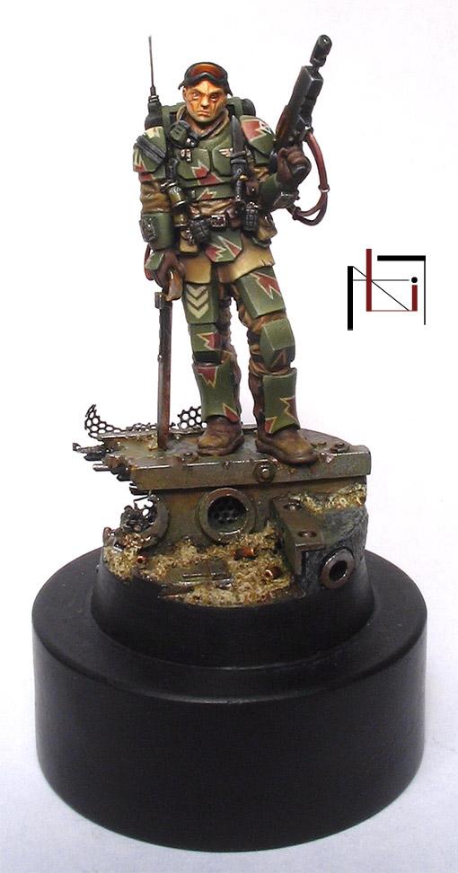 sergent grenadier kasrkin