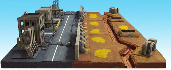 CoolMiniOrNot - City Seige Terrain Table Warhammer 40k by