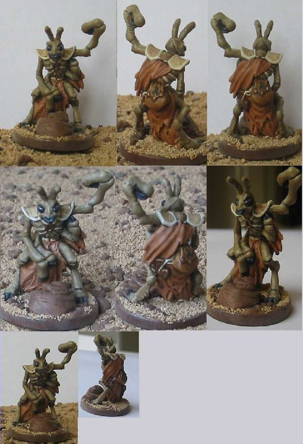 Coolminiornot Thri Kreen Monk By Blue Dragon Cult