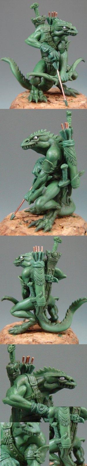Zygore Lizard Man