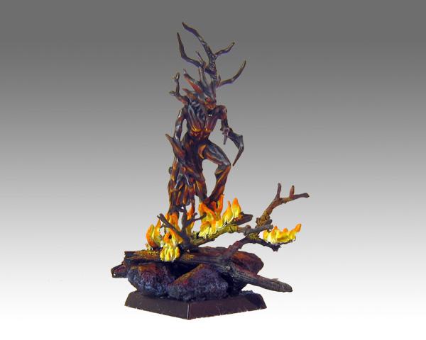 Dryad: Avenger of burned forests