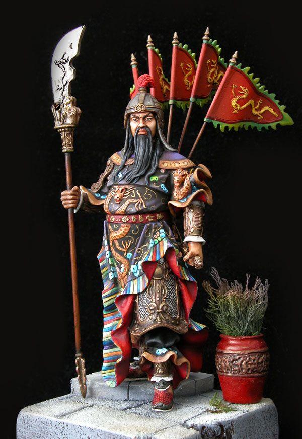 CoolMiniOrNot - Guan Yu by Richard