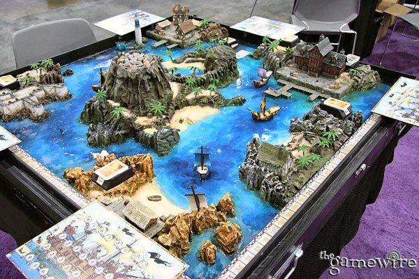 Pirates cove - at Origin game expo.