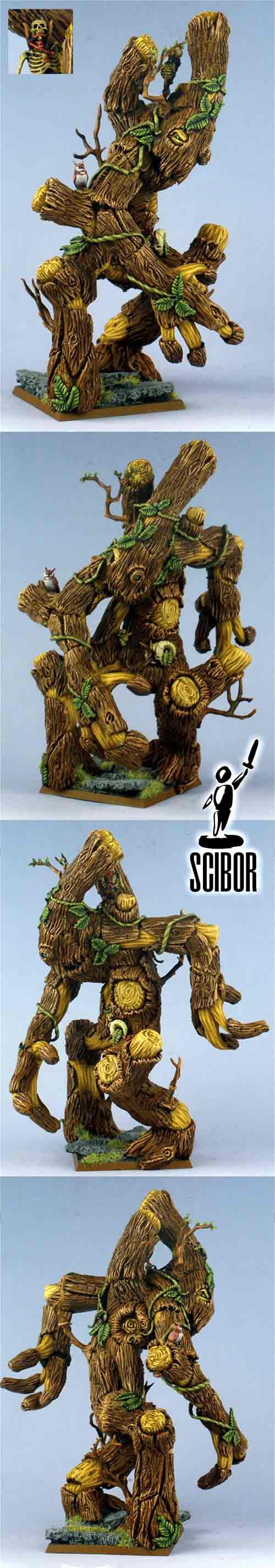 WARHAMMER Wood Elf Treeman SCULPTED & PAINTED