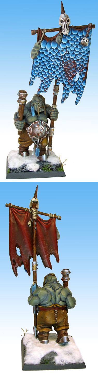 Ogre Bull with Dragonhide Magic Standard