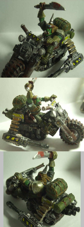 Ork War Bike
